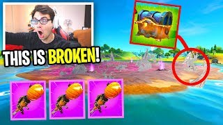 I can ONLY use ZOMBIE ISLAND weapons in Fortnite... (why this is OVERPOWERED)