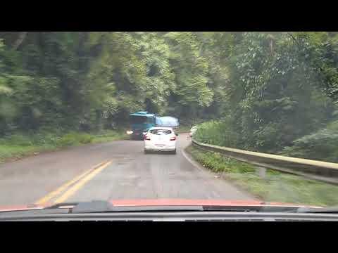 Serra de juquia , Tapiraí , pista sem acostamento , sem rede celular