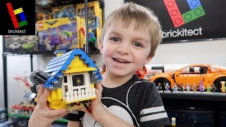 SURPRISING CLARK with the LEGO MOVIE 2 RESCUE ROCKET!