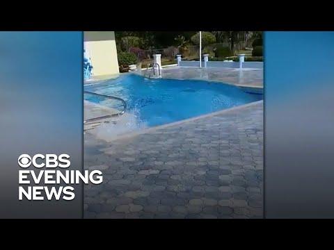 Earthquake hits between Cuba and Jamaica