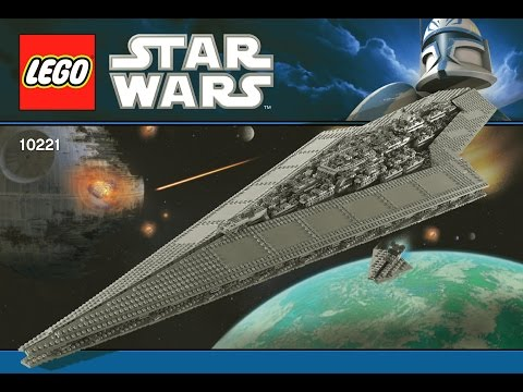 LEGO Star Wars Super Star Destroyer 10221 DIY Instructions Brick Building Kids