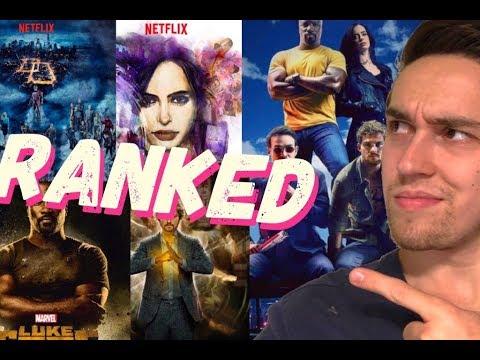 All 6 Marvel Netflix Seasons Ranked