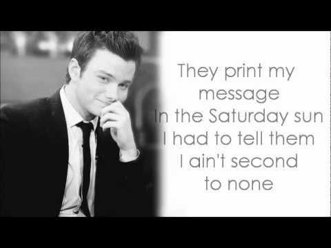 Glee - Black or White (Lyrics) - YouTube