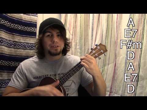 How to play wagon wheel on ukulele the easy way