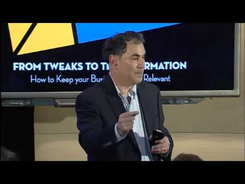 Saul Kaplan on Transformation Lessons from the Business Innovation Factor | Amplify 2013