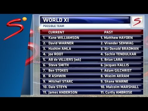 Past Test World XI selection