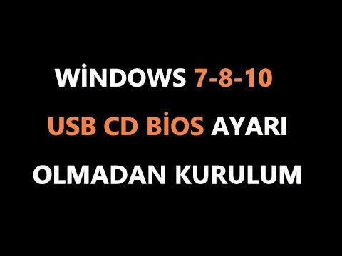 Usb cd ve bios ayarı olmadan format atma (#3)