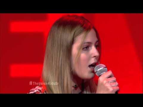 Duda Balestero canta 'Crazy' no The Voice Kids - Audições|1ª Temporada