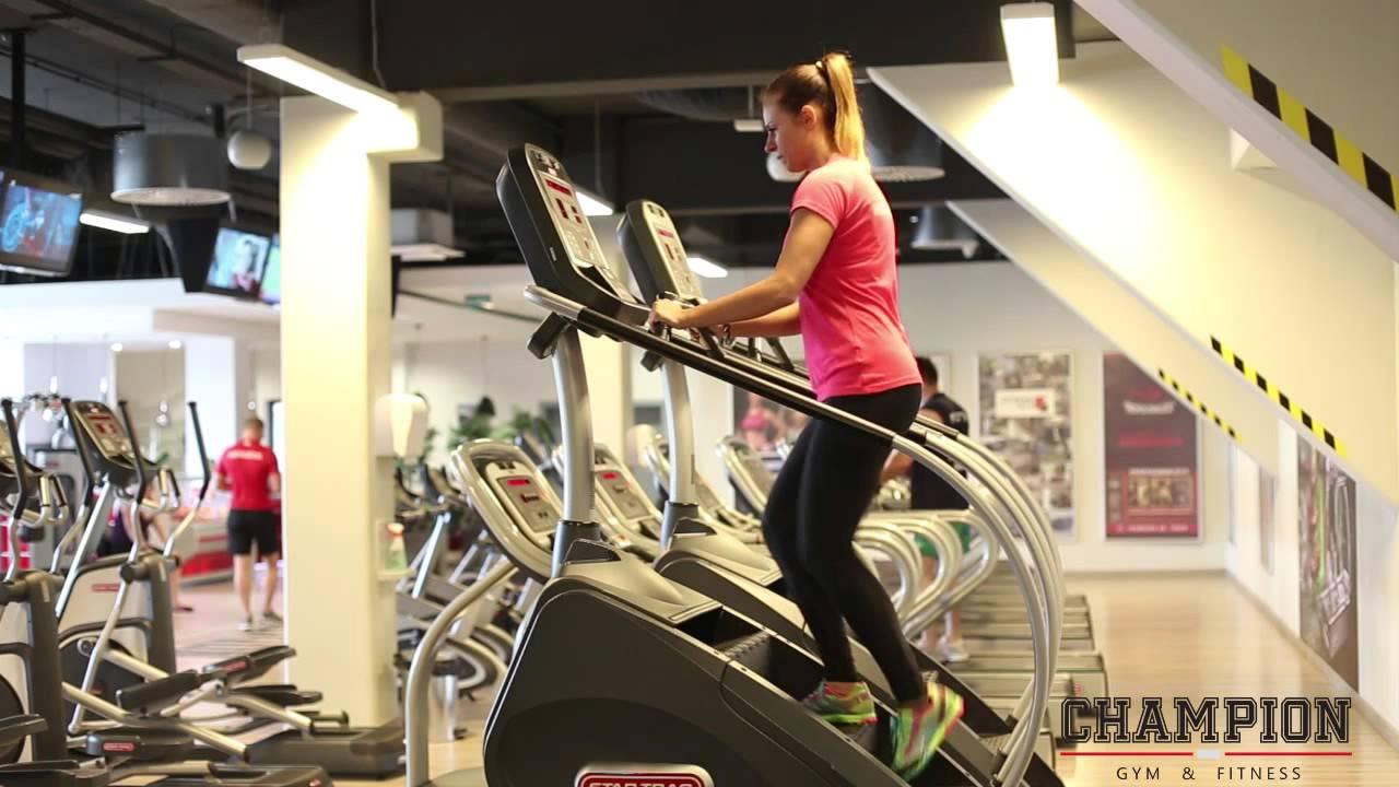 Champion Gym Fitness Schody Youtube