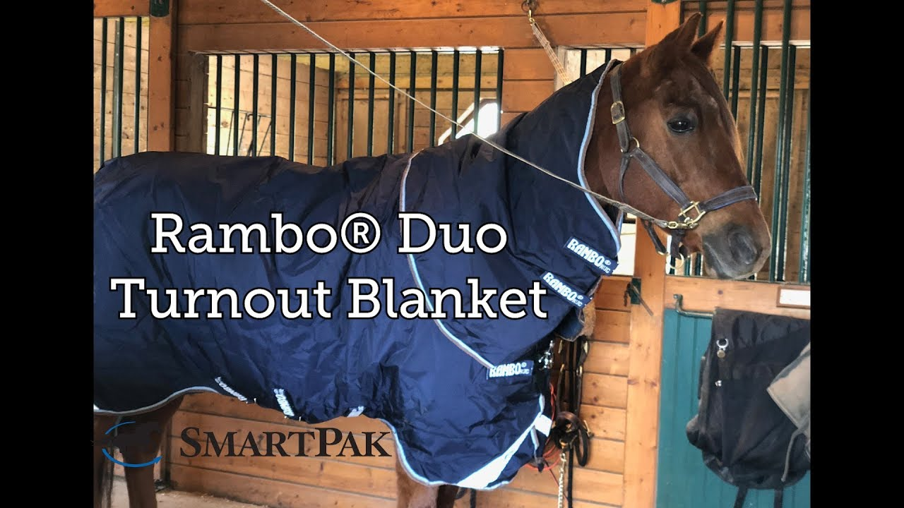 Rambo Duo Turnout Blanket Review You
