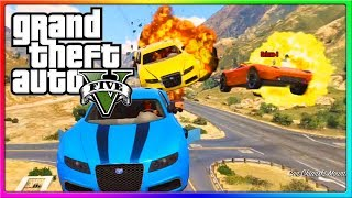 gta 5 online crazy car explosion gta 5 online funny custom races with the crew