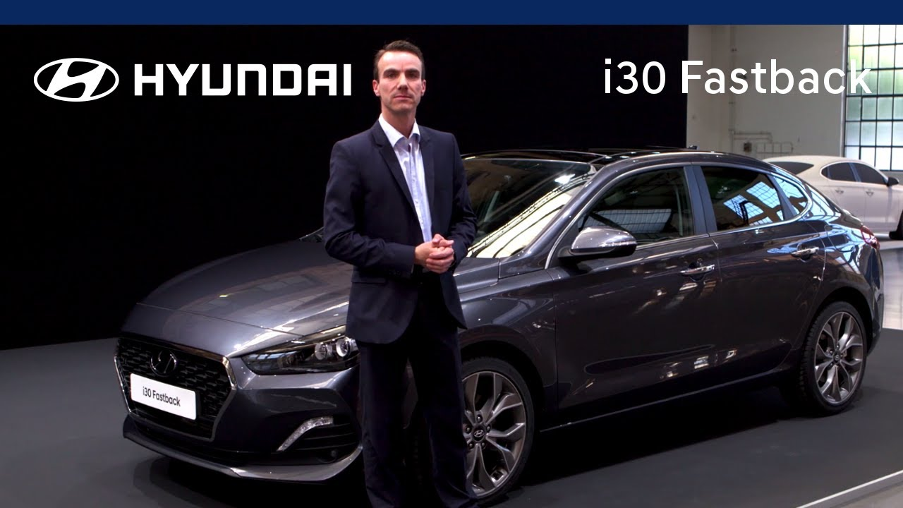 all new hyundai i30 fastback product walkaround review. Black Bedroom Furniture Sets. Home Design Ideas
