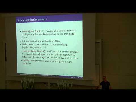 Prof. Shai Shalev-Schwartz - Efficient training of polynomial Neural Networks