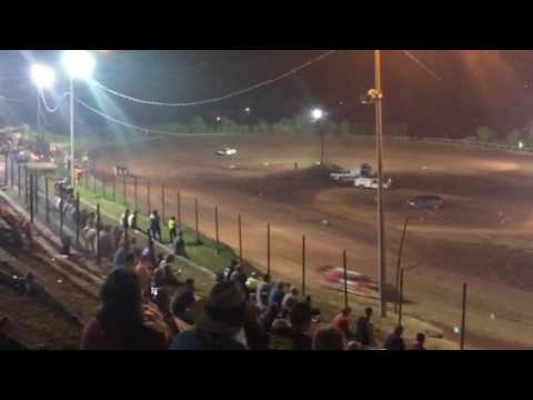 I-77 Speedway Steel Block Late Model Heat Race - Brain Thomas Motorsports #19