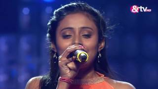 Suchandra Mondal – Gali Mein Chaand Nikla  The Blind Auditions  The Voice India 2