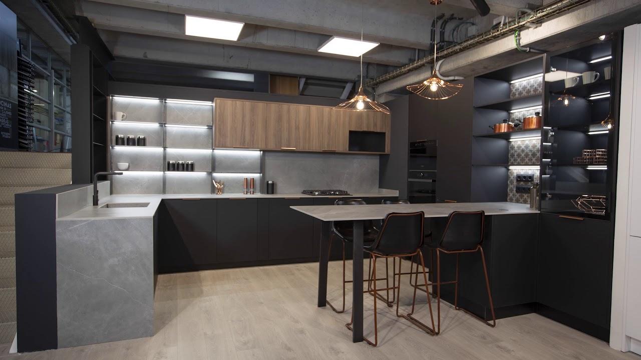 Instalación Cocina Tmatt Nero By Tpc Cocinas