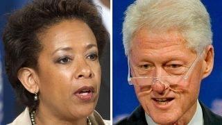 Why did AG Lynch secretly meet with Bill Clinton?