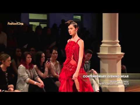 Fashion Week Contemporary Evening Wear Student Runway Perth Fashion Festival 2013 57596 NM