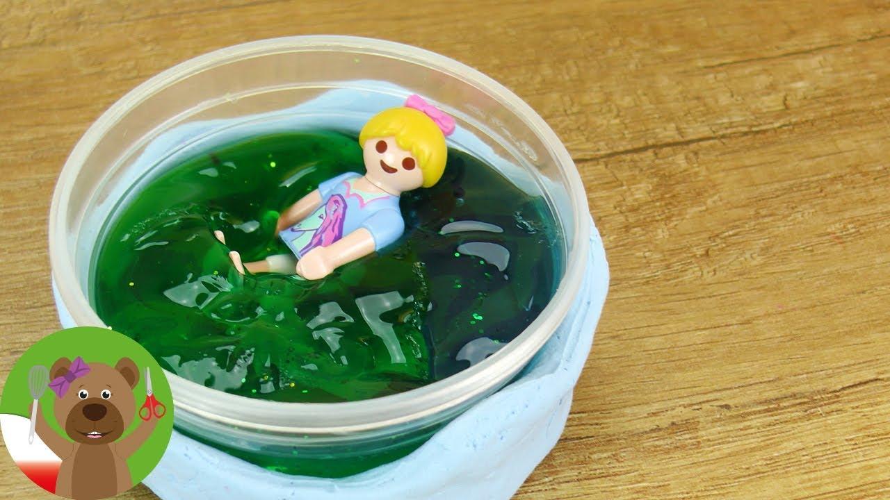 DIY basen Playmobil | basen z kolorowym kisielem | Playmobil Aquapark