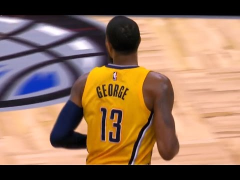 Paul George's 37/7/6 Pushes Pacers Past Orlando | April 8, 2017