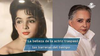 En redes sociales, la actriz, Ana Martín, ha maravillado a millennials, zetas y otros despistados con su belleza que rompe las barreras del tiempo
