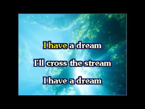 ABBA - I have a dream karaoke