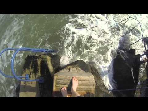 First swim of the year at Nudie Beach, Killiney Dublin. Gopro hero3 black