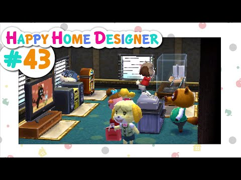 Animal Crossing: Happy Home Designer :: # 43 - Department Store of Dreams!