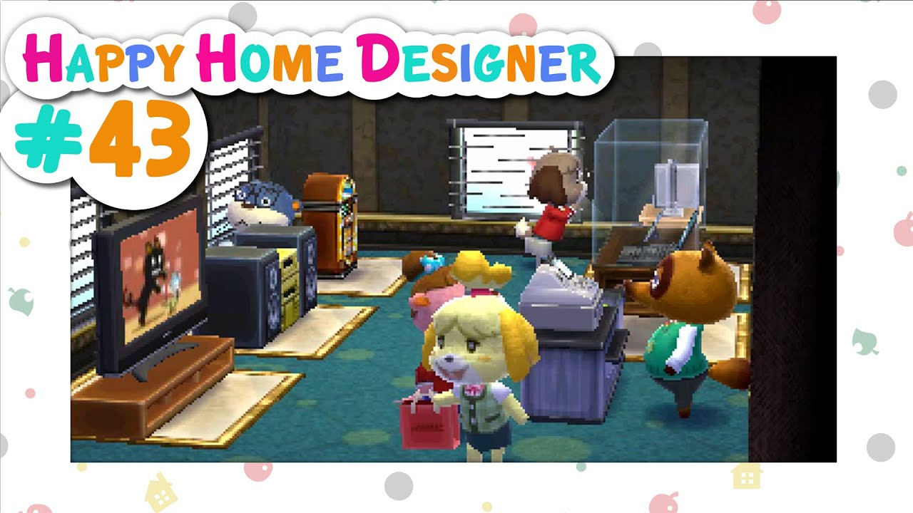 Animal Crossing Happy Home Designer 43 Department Store Of Dreams Youtube