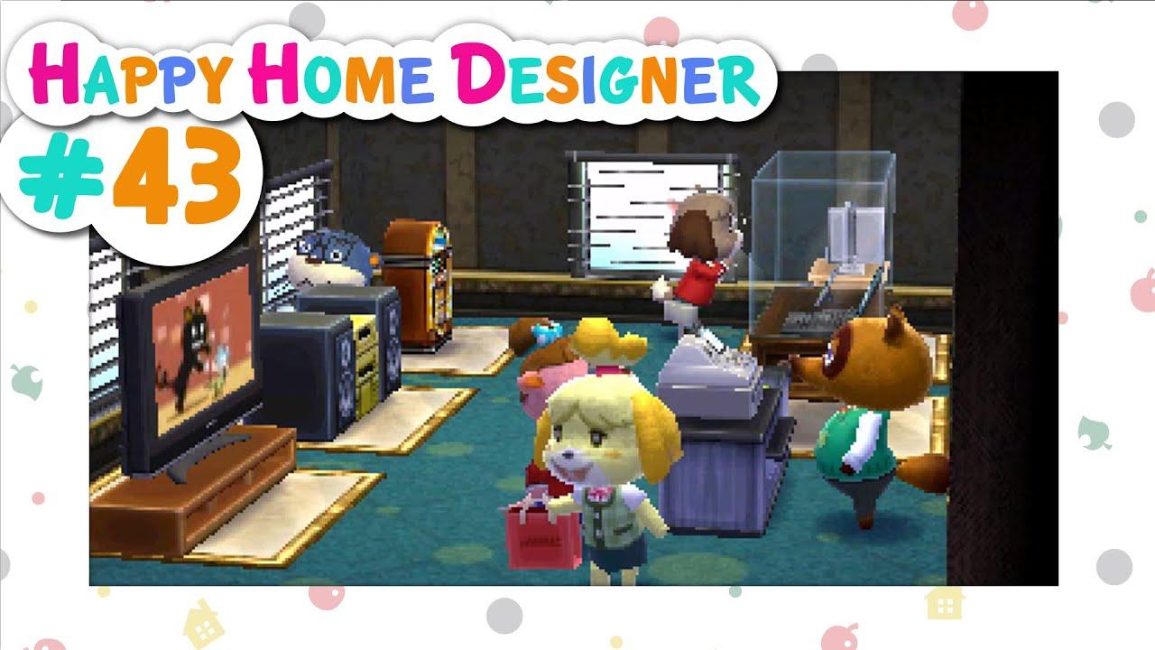 Animal Crossing Happy Home Designer 43 Department