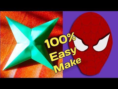 Easy paper craft, How to make Christmas 🌟 star, Diy christmas star.