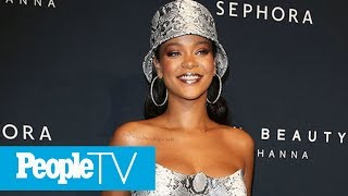 Rihanna Posts Sexy Late-Night Swimsuit Picture As She Shows Off New Fenty Shades | PeopleTV