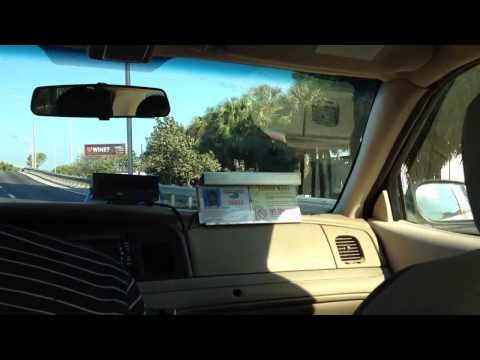 Taxi drive from Miami airport
