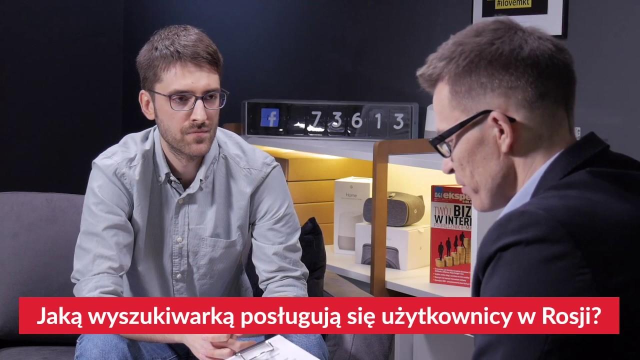 Konstantin Kanin o wyszukiwarce Yandex, platformie VK i rosyjskim messengerze – Telegramie