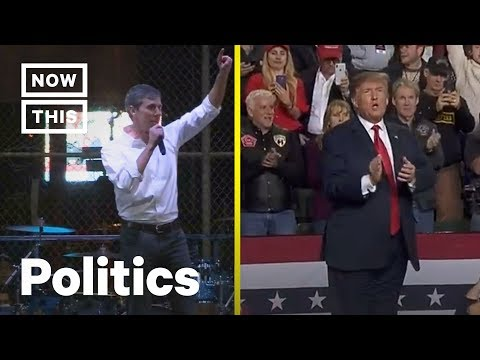 The Stark Difference Between Trump and Beto O'Rourke's El Paso Rallies | NowThis Mp3