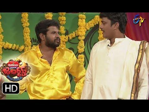 Hyper  Aadi Raijing Raju Performance | Jabardsth | 24th  August 2017| ETV  Telugu