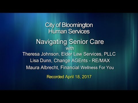 Human Services: Navigating Senior Care
