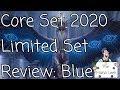 Magic Core Set 2020 Blue Limited Set Review - The Mana Leek