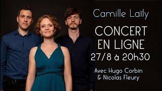 Concert en ligne - Chansons en trio