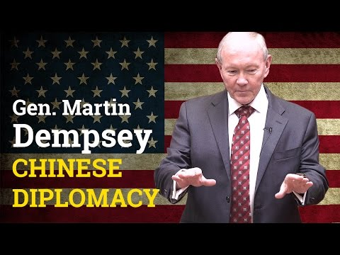 How does the US begin a diplomatic dialogue with China? | General Martin Dempsey (2017)