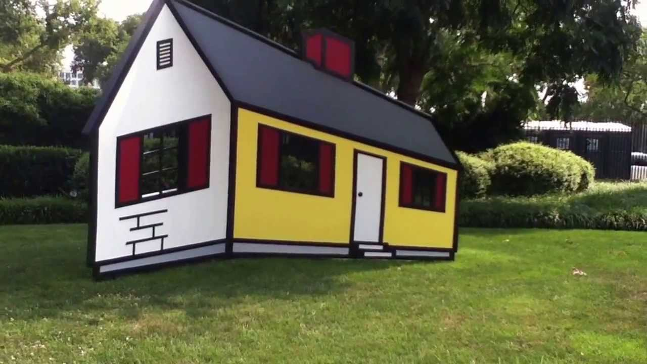 Real Life Optical Illusion - House I by Roy Lichtenstein ...