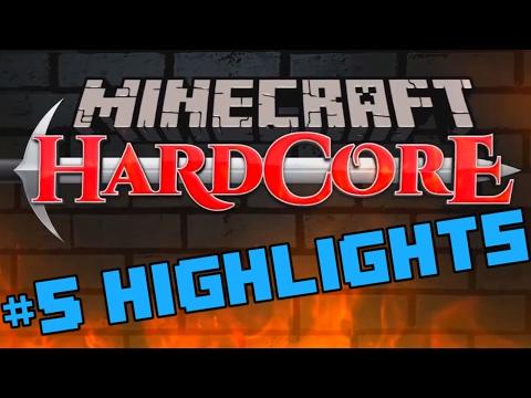 PBG Minecraft Hardcore #5 Highlights