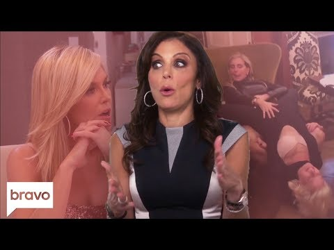 Bethenny Frankel Questions Tinsley's Relationship & Gets A Sign | RHONY Highlights (S11 Ep7) | Bravo