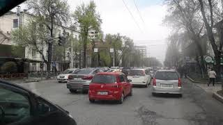 Пробки в Бишкеке