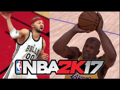Can A Player With 0 Stats Hit A Three Pointer Before SHAQ? NBA 2K17 Challenge