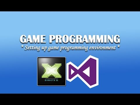 Setting up Game Programming environment (Installation of DirectX SDK)