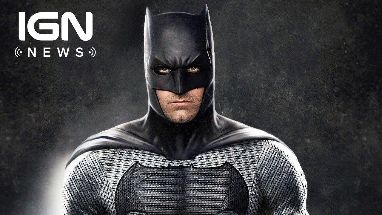 Ben Affleck Talks Solo Batman Movie Script Status and Release Date - IGN News - YouTube & Ben Affleck Talks Solo Batman Movie Script Status and Release Date ...