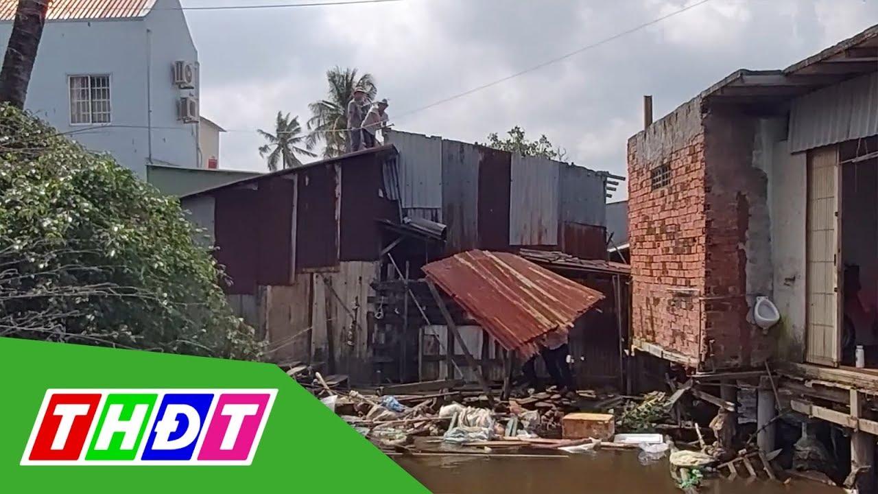 Hơn 90 hộ dân Phú Quốc buộc phải tháo dỡ khỏi rạch Ông Trì   THDT