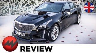 Cadillac CTS-V ? A Bullet in the Rain (english car review)