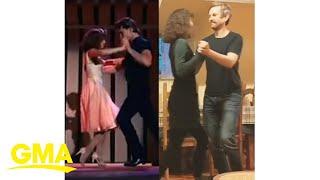 'Dirty Dancing' finale recreated by couple in self-quarantine l GMA Digital